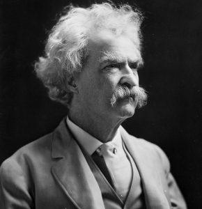 Mar Twain talks about American Comedy