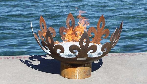 John t Unger Sculptural Firebowls