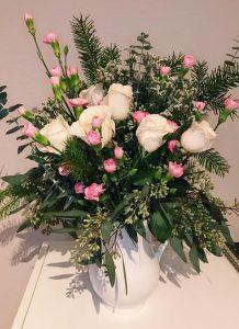 flower arrangement by artist Jessica Rose Greenwood